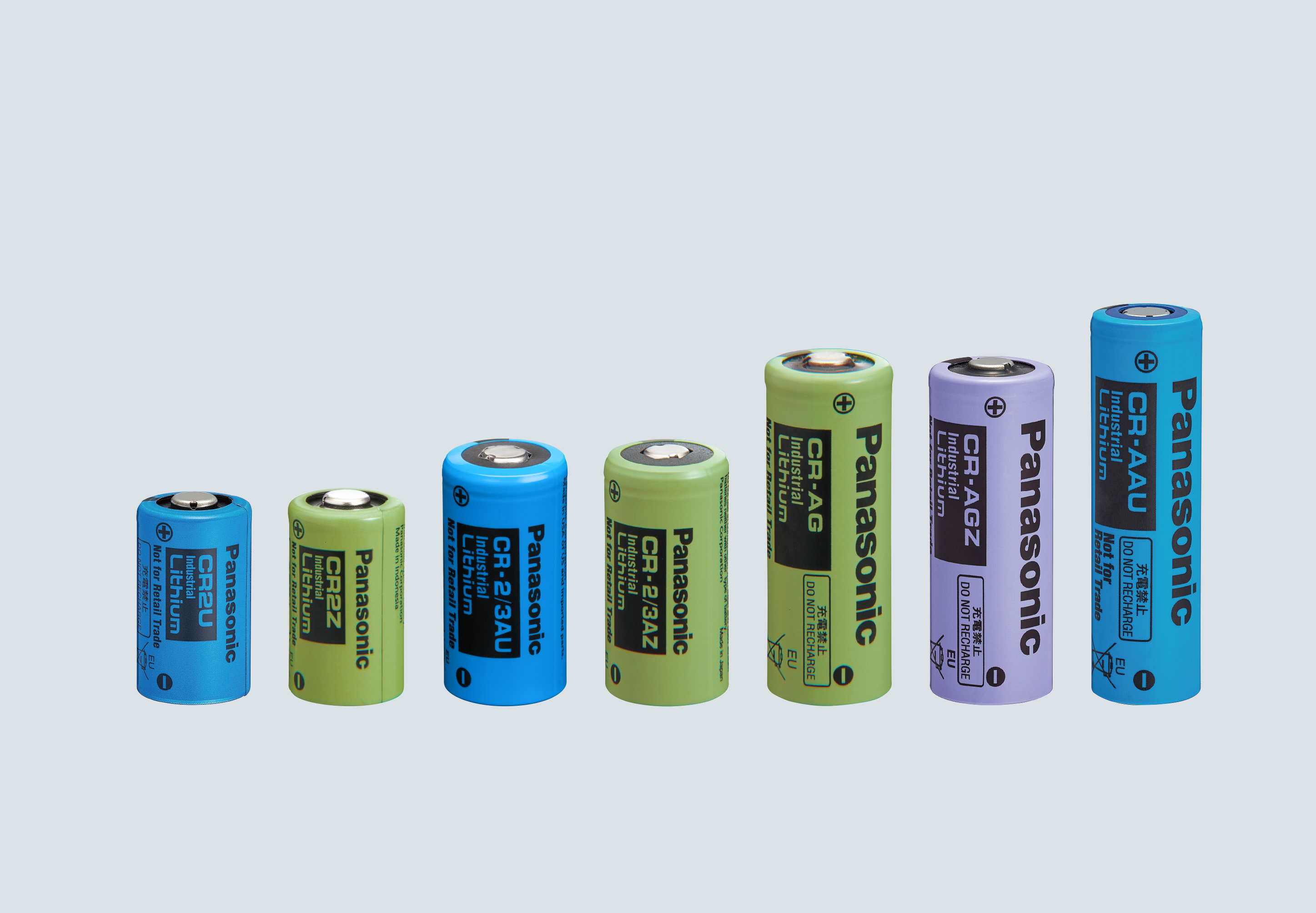 CR-AG : Cylindrical type lithium batteries(CR series/Long
