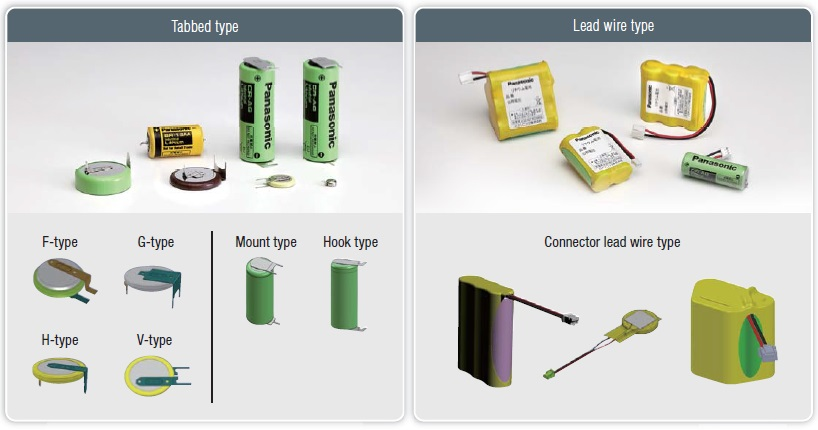 Lithium Batteries - Industrial Devices & Solutions - Panasonic
