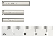 Photo:Pin-type Lithium-ion Batteries