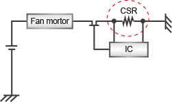 Motor overcurrent protection circuit
