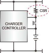 Battery level detection circuit image