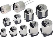 Photo:Conductive Polymer Hybrid Aluminum Electrolytic Capacitors