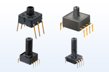 Photo:PS-A Pressure Sensors (built-in amplification and temperature compensating circuit)