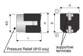Anti-vibration type (Size code F and G only)
