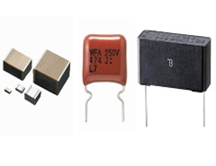 Photo:Film Capacitors (Electronic Equipment Use)