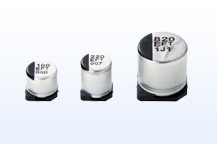 Photo:Aluminum Electrolytic Capacitors (Surface Mount Type)