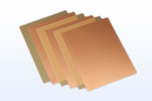 Multi-layer circuit board materials for ICT infrastructure equipment
