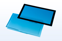 Photo:Sensor films for large-screen touch panel