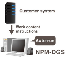 Customer system - Work content instructions - NPM-DGS