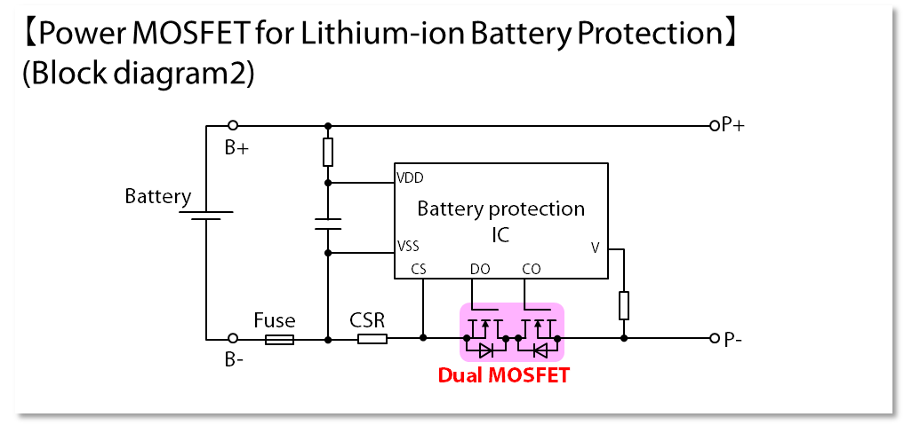 Mosfets For Lithium Ion Battery Protection Semiconductors